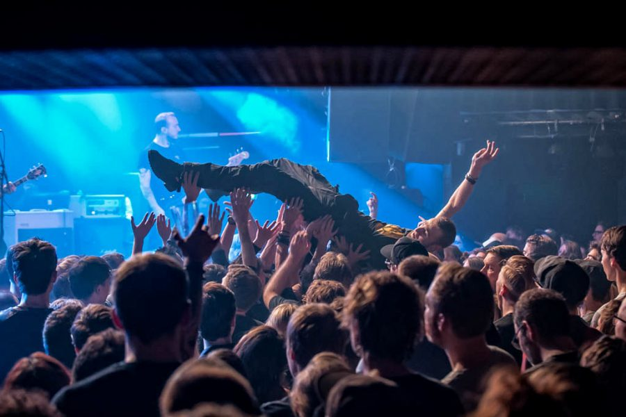 The Menzingers in Melkweg, foto Rob Sneltjes