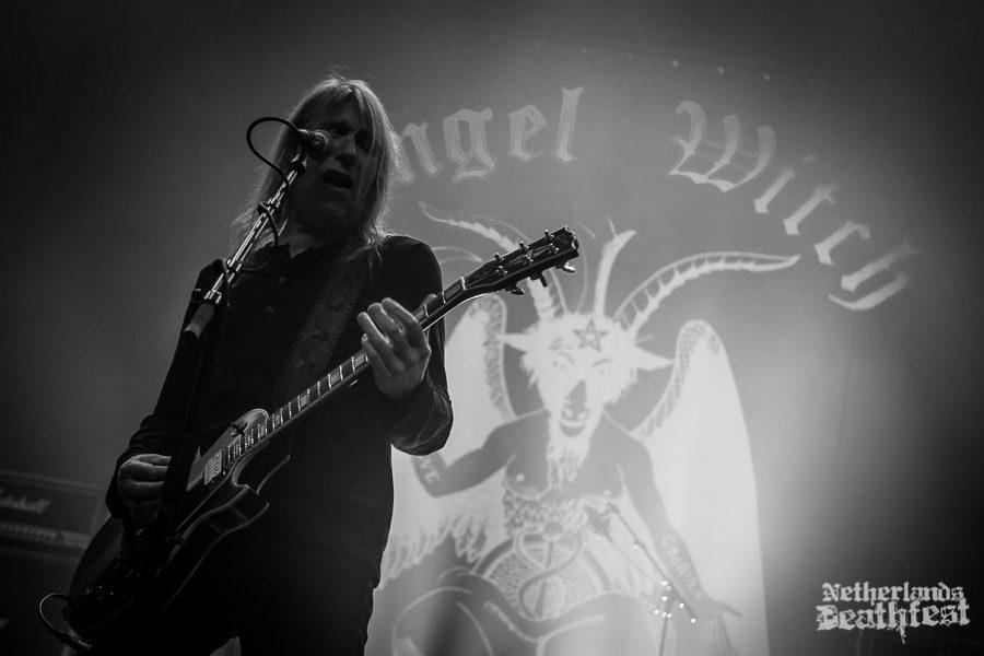 Angel Witch op Netherlands Deathfest, foto Paul Verhagen