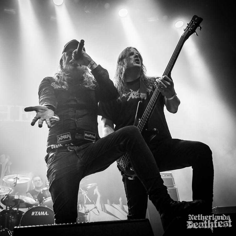 At The Gates op Netherlands Deathfest, foto Paul Verhagen