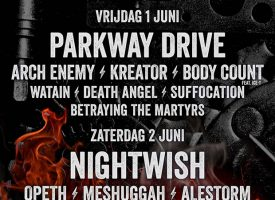 FortaRock compleet met DragonForce, TÝR, Suffocation, VUUR, Betraying The Martyrs en For I Am King