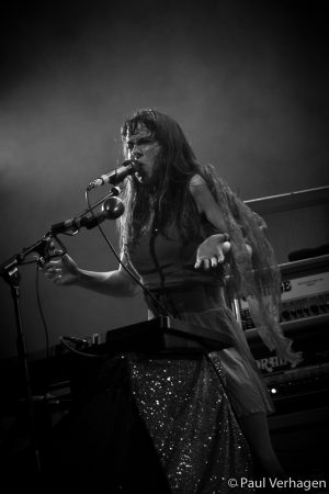 Le Butcherettes in 013, foto Paul Verhagen