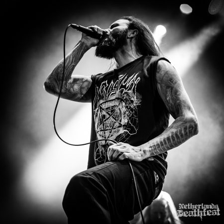 Suffocation op Netherlandse Deathfest, foto Paul Verhagen