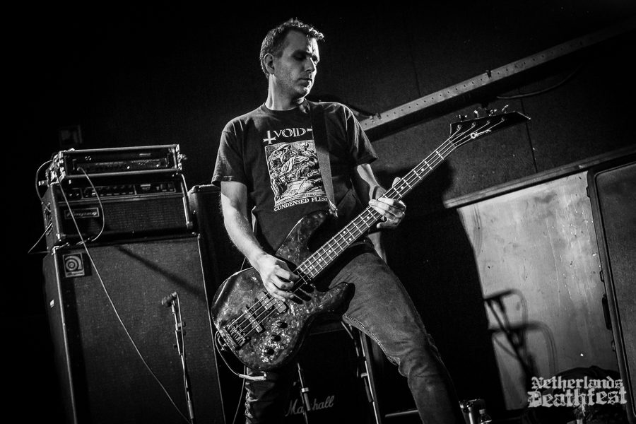 Yacøbsæ op Netherlandse Deathfest, foto Paul Verhagen