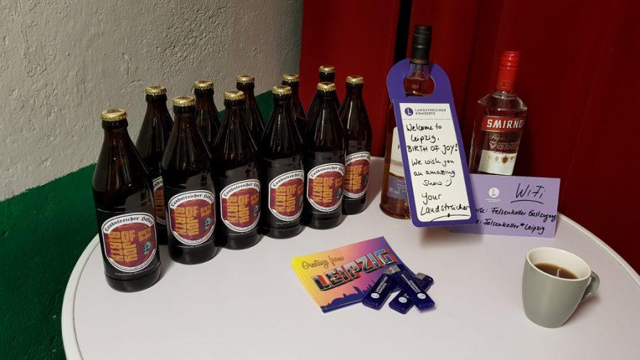 Drankwelkom in Leipzig dankzij Landstreicher