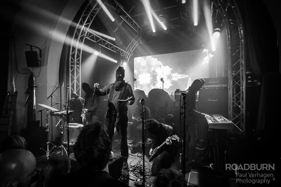 NYIÞ & Wormlust op Roadburn, foto Paul Verhagen