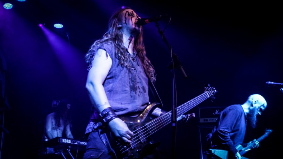 Moonsorrow in 013, foto Justina Segers