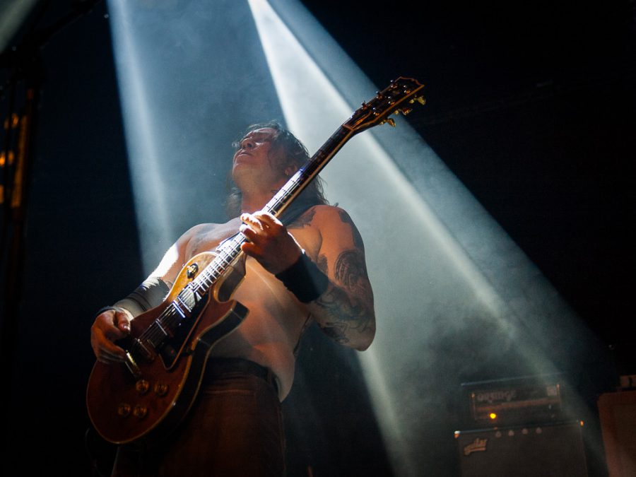 High on Fire in het Patronaat, foto Roy Wolters