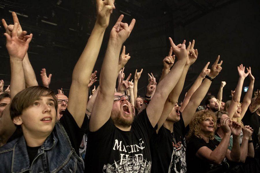Machine Head in 013, foto Rob Sneltjes