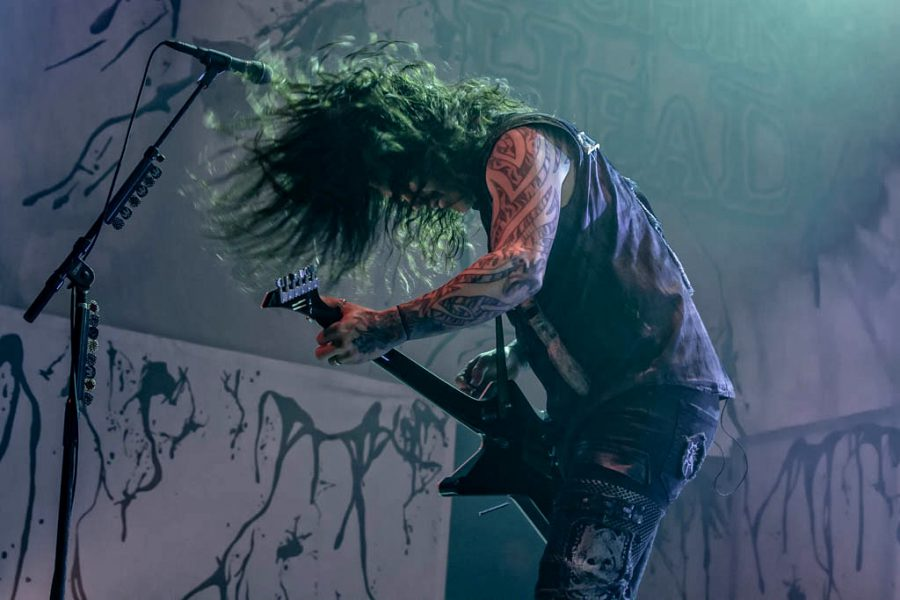 Machine Head in 013, foto Rob Sneltjes
