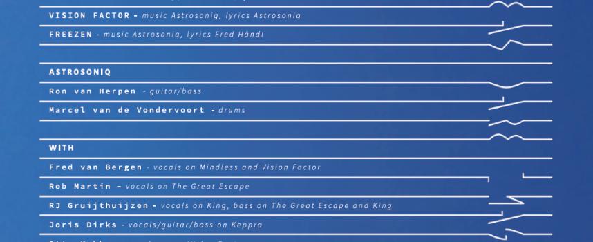Astrosoniq heeft 6e plaat af, draagt Big Ideas Dare Imagination op aan Bidi