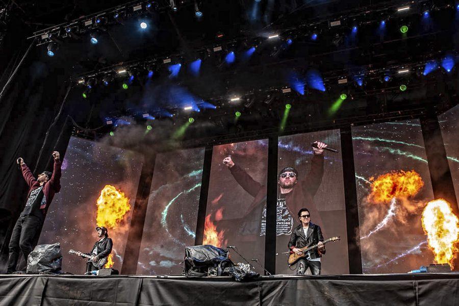 Avenged Sevenfold op Graspop, foto Rob Sneltjes