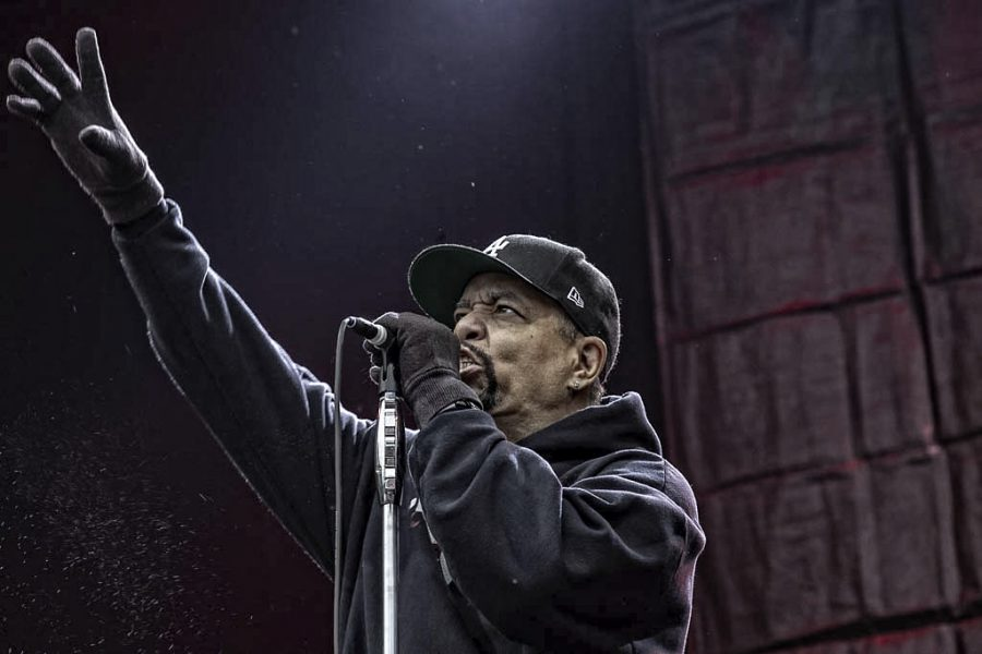 Body Count featuring Ice-T op Fortarock, foto: Rob Sneltjes