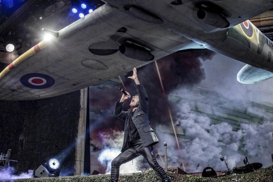 Iron Maiden op Graspop, foto Rob Sneltjes