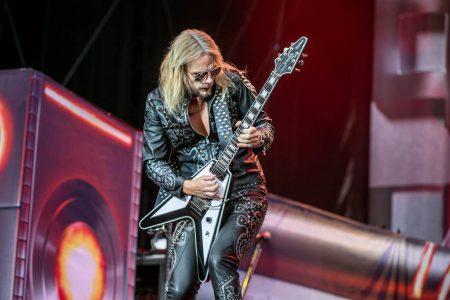 Judas Priest op Graspop, foto Rob Sneltjes