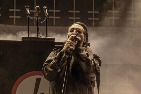 Marilyn Manson op Graspop, foto Rob Sneltjes