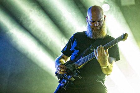 Meshuggah op FortaRock 2018, foto Rob Sneltjes