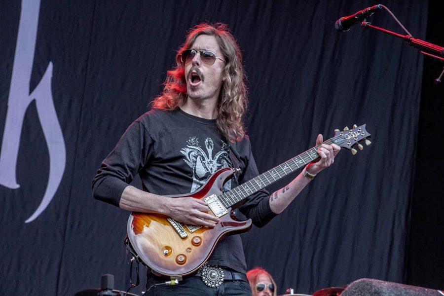 Opeth op FortaRock 2018, foto Rob Sneltjes