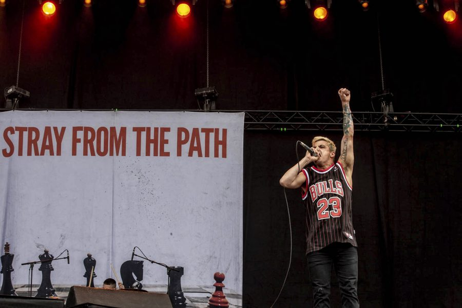 Stray From The Path op Graspop, foto Rob Sneltjes
