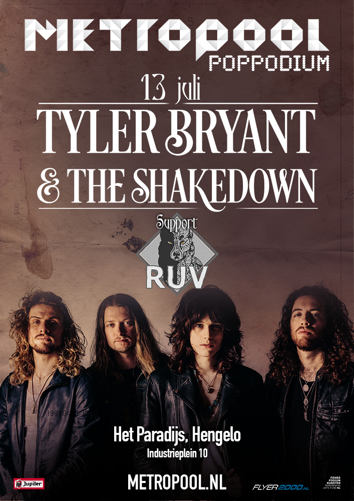 Tyler Bryant Poster A3