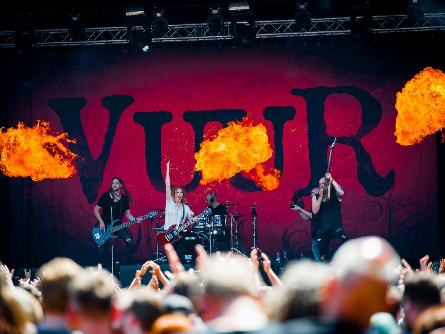 Vuur op Dynamo Metal Fest 2018, foto Roy Wolters