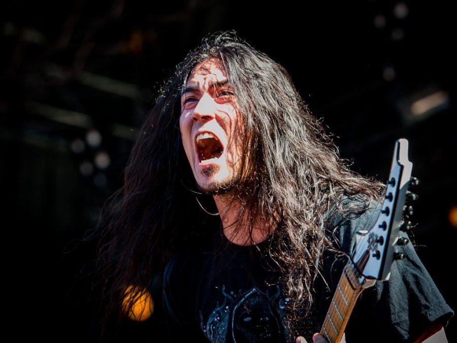 Annihilator op Dynamo Metal Fest 2018, foto Roy Wolters