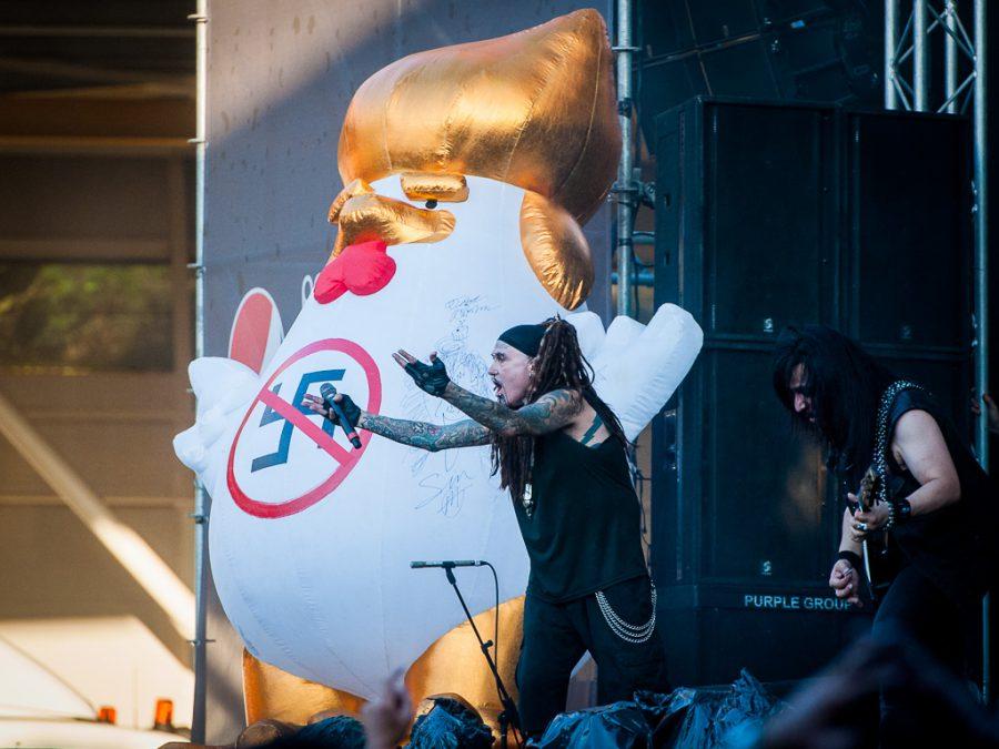 Ministry op Dynamo Metal Fest 2018, foto Roy Wolters