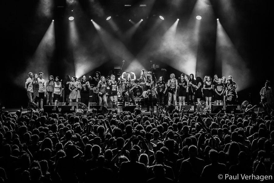 Gene Simmons Band in 013. Foto: Paul Verhagen