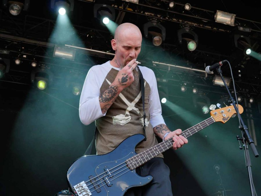 Nick Oliveri's Death Electric op Sjock 2018, foto: Timothy Aarbodem