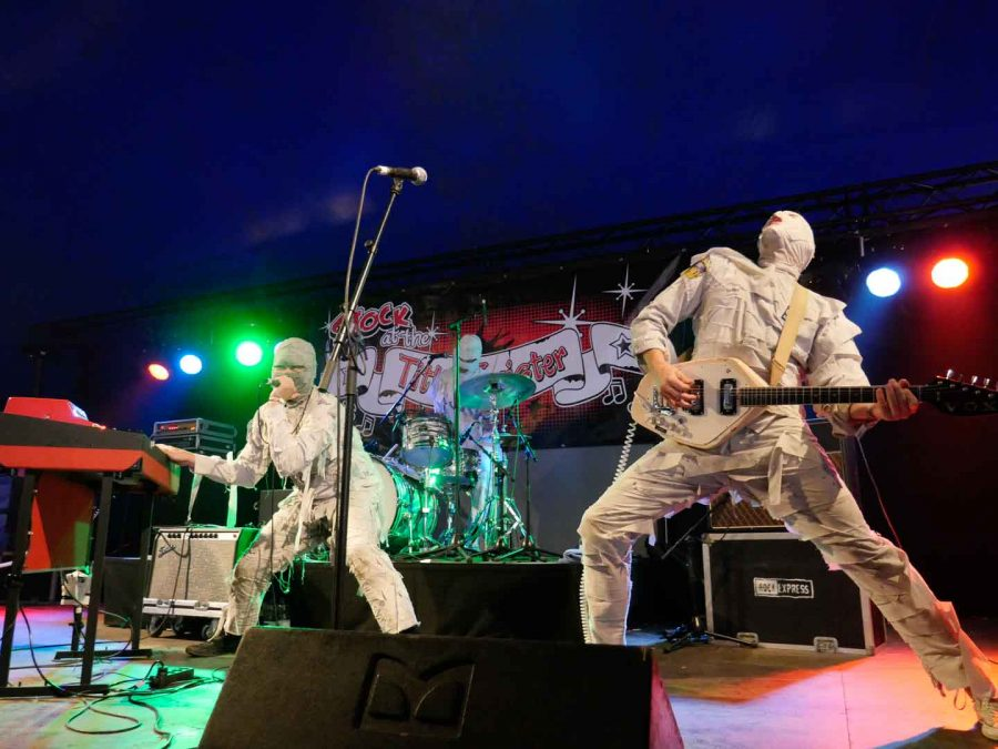 The Mummies op Sjock 2018, foto: Timothy Aarbodem