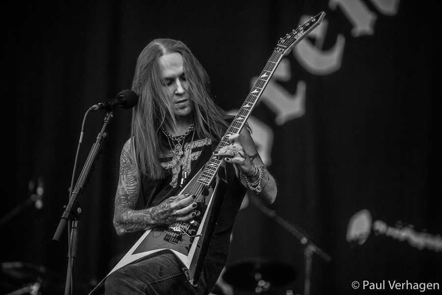 Children of Bodom op Into The Grave, foto Paul Verhagen