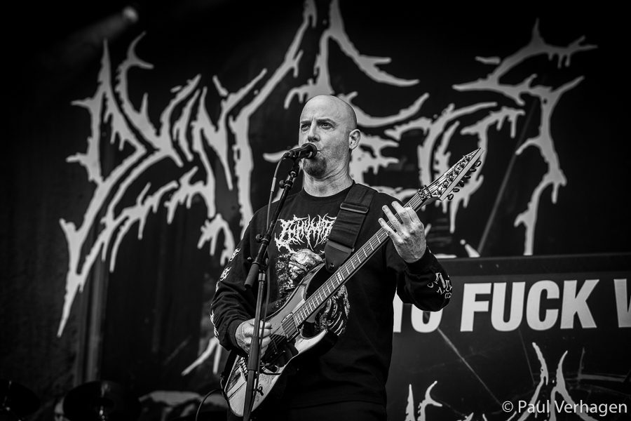 Dying Fetus op Into The Grave, foto Paul Verhagen
