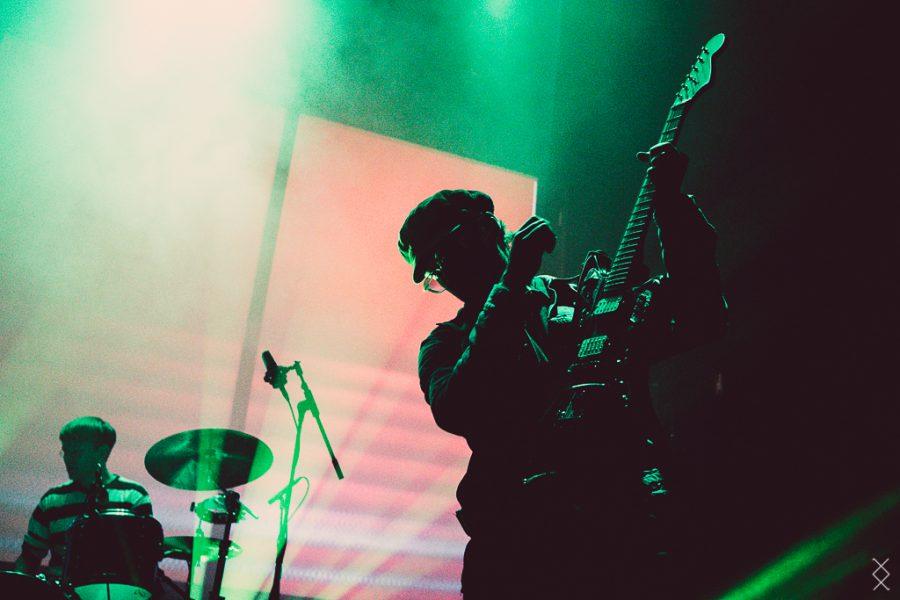 Black Lizard op Fuzz Club Eindhoven, foto Maron Stills
