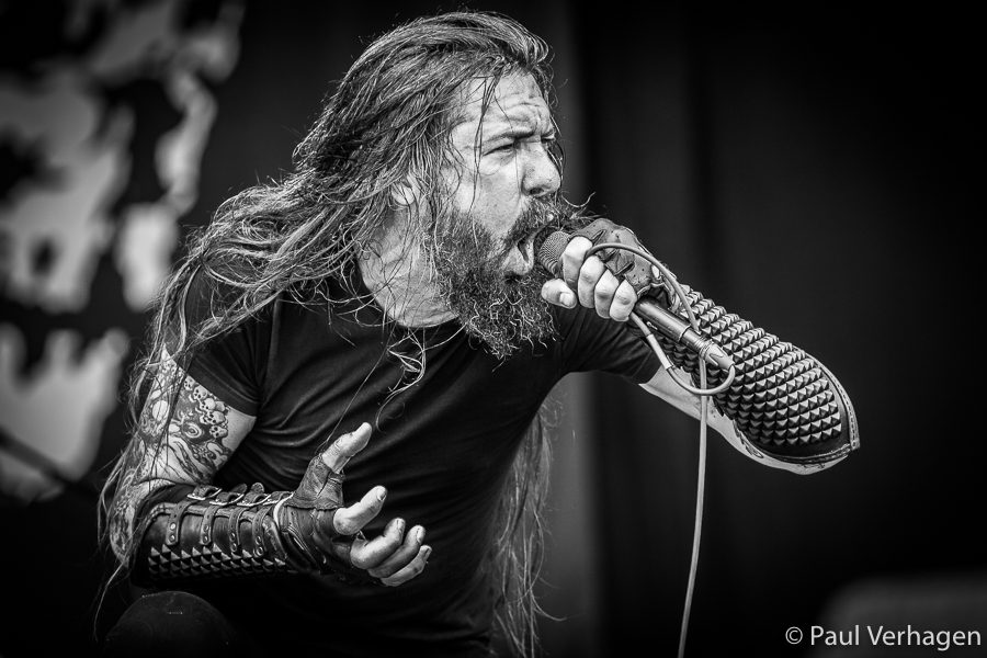 Goatwhore op Into The Grave, foto Paul Verhagen