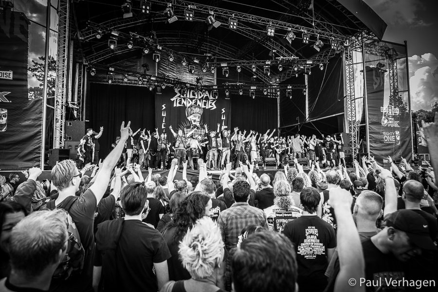 Suicidal Tendencies op Into The Grave, foto Paul Verhagen