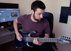 Guitar playthrough video: Hibakusha – Infrequently Vile