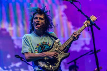 King Gizzard and the Lizard Wizard op Lowlands 2018, foto: Rick de Visser