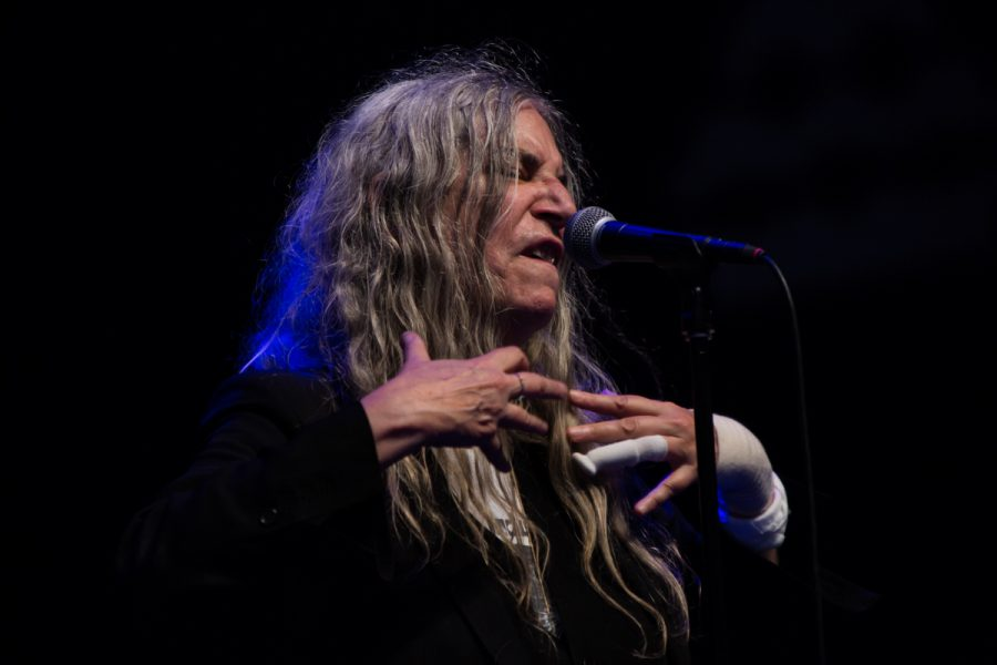 Patti Smith op Lowlands 2018, foto: Rick de Visser