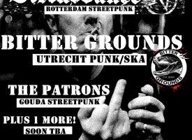 Bitter Grounds doopt 2e album in dB's en maakt Duitse plannen