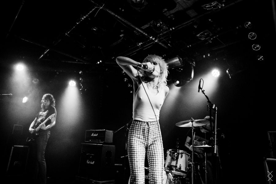 Amyl & The Sniffers in EKKO, foto Maron Stills
