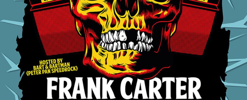 Eerste namen Faster and Louder: Frank Carter, Cosmic Psychos en The Spades