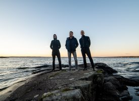 Tourverslag: Friese post-hardcoreband Cosmute in Finland