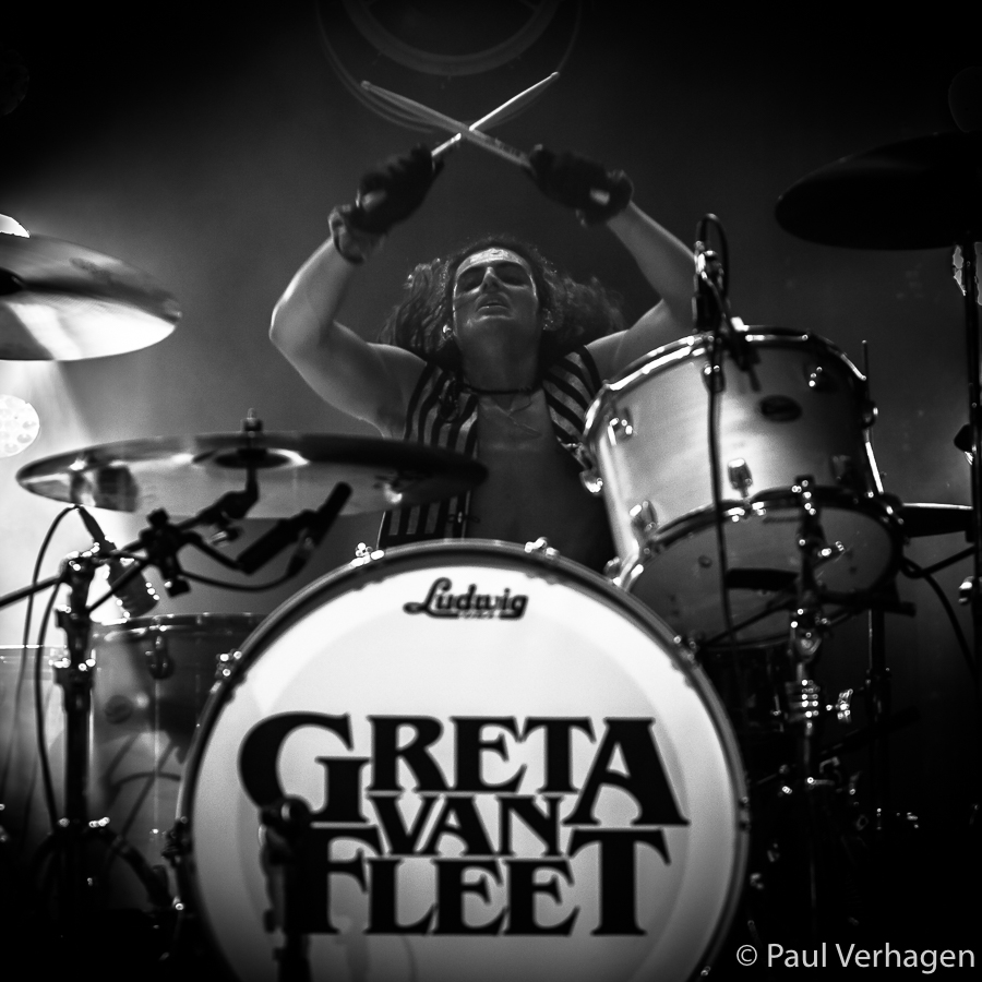 Greta van Fleet in 013, foto Paul Verhagen