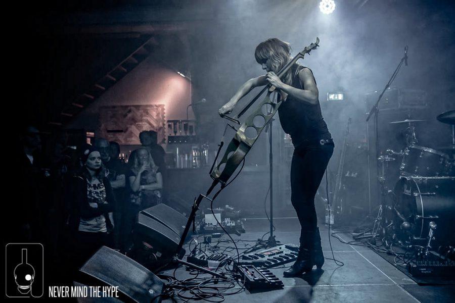Jo Quail op Into The Void, foto Rob Sneltjes