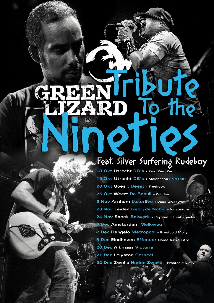 Green Lizard tribute to nineties