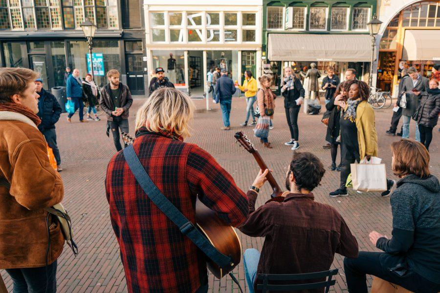 Ziggy Splynt sessie Popronde Rotterdam, foto Jessie Kamp