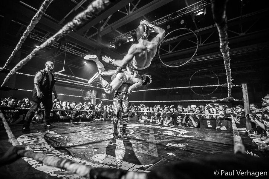 The Rock 'n Roll Wrestling Bash op Helldorado, foto Paul Verhagen