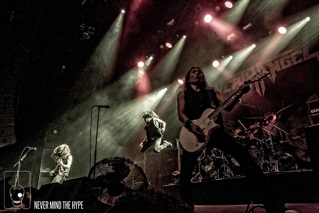 Death Angel in 013, foto Rob Sneltjes