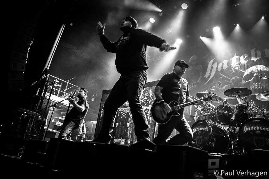 Hatebreed in 013, foto Paul Verhagen