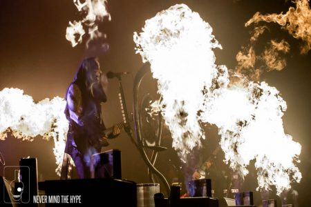 Behemoth in TivoliVredenburg, foto Rob Sneltjes