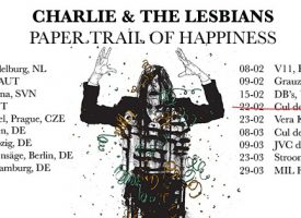Charlie & The Lesbians lanceert dubbel-EP en Europese tour